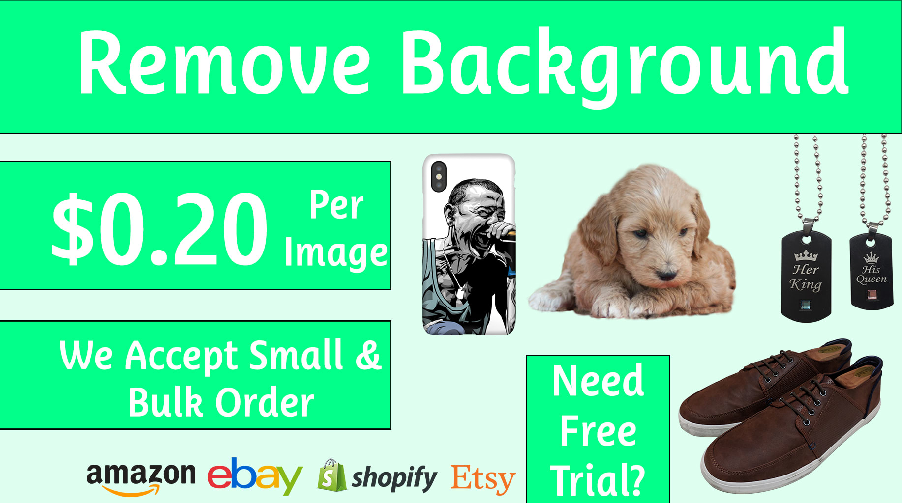 do background removal or photo editing any image