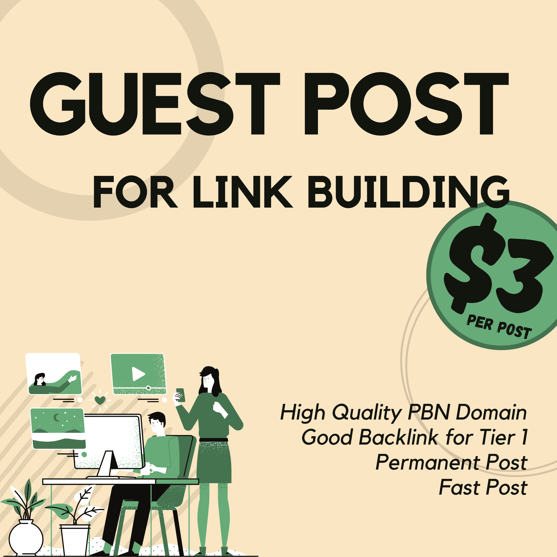 I will boost your website using my PBN for Guest Posing