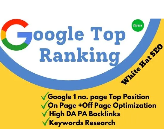 I will rank your website google 1st page top position by white hat SEO