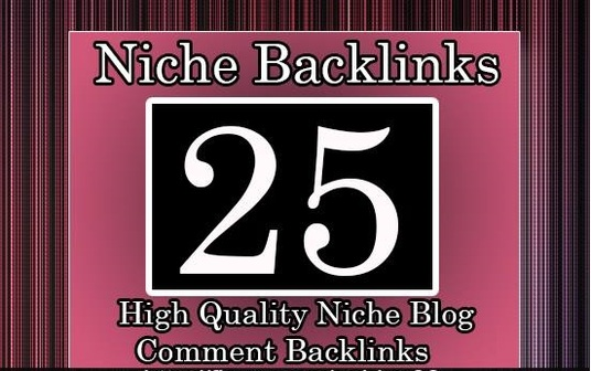 build 25 High Quality Niche Relevant Blog comments Backlinks