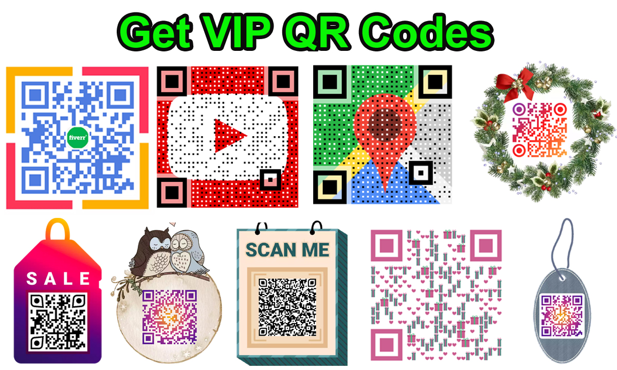 Make your VIP QR code within few hours