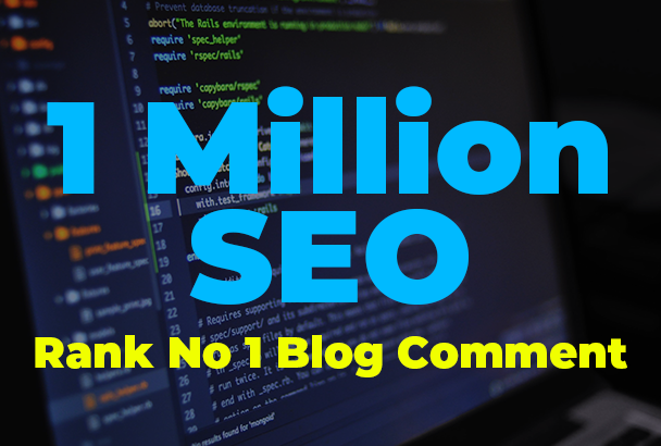 I will build 10, 00,000 verified blog comment