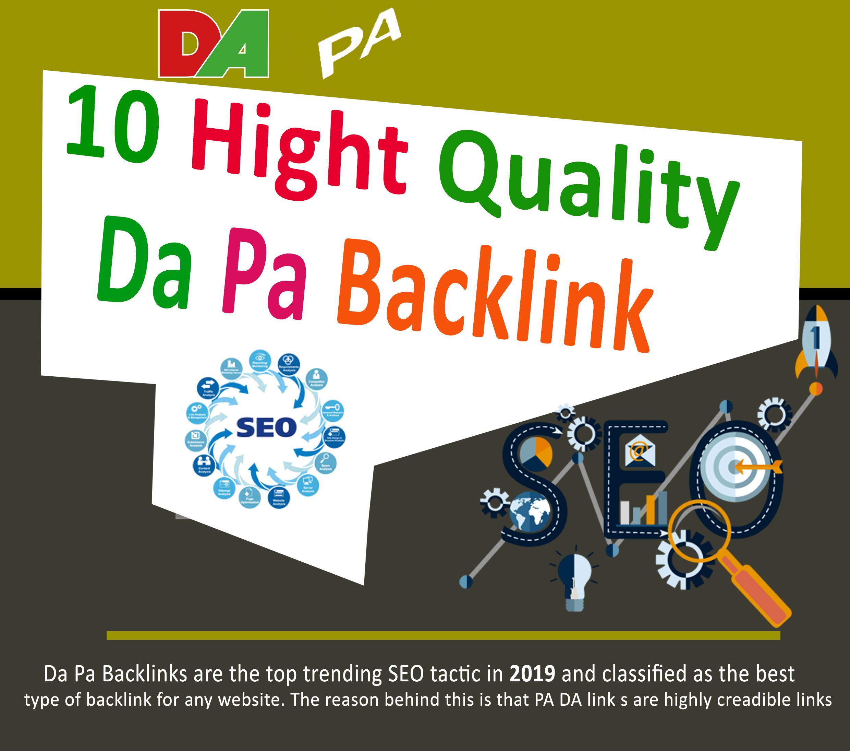 I will Create 50 Manual Dofollow Seo Backlinks With High Da Pa