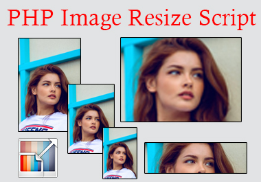 I will provide PHP image resize script