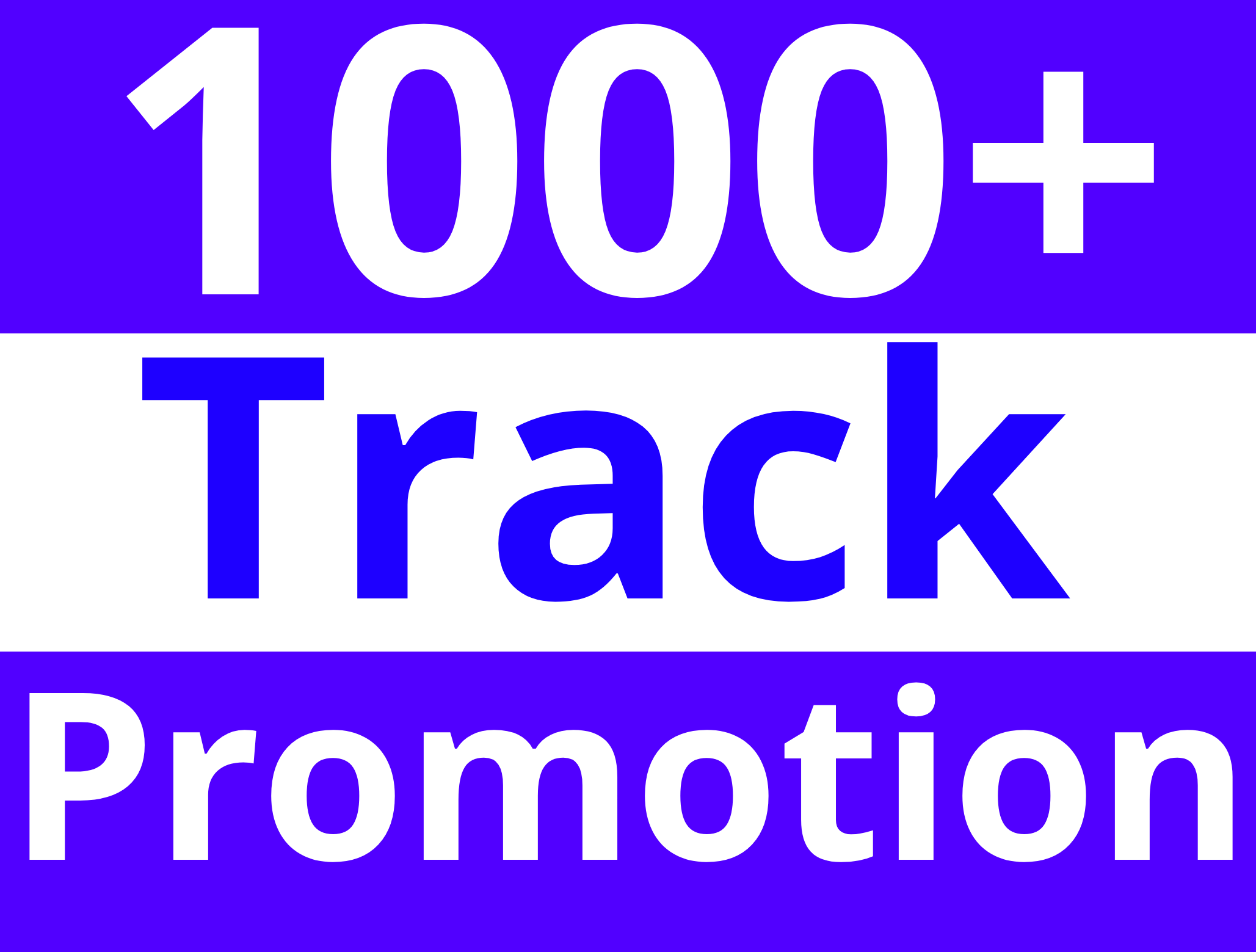 Get Guaranteed 1000+ Organic Music Track Promotion For Your Rankings