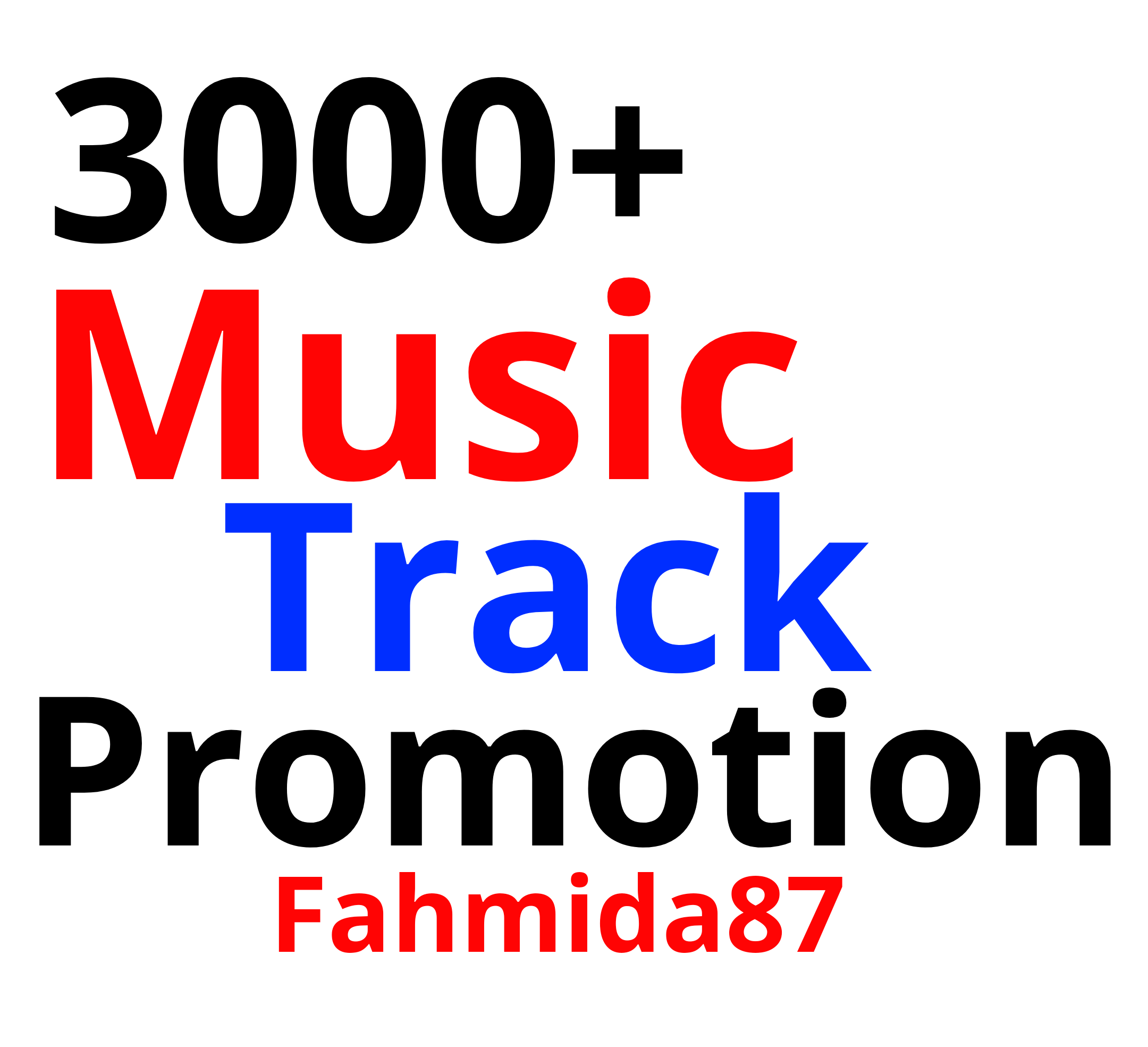 Music Promotion 3000 Real Organic Track Promotion Guarantee