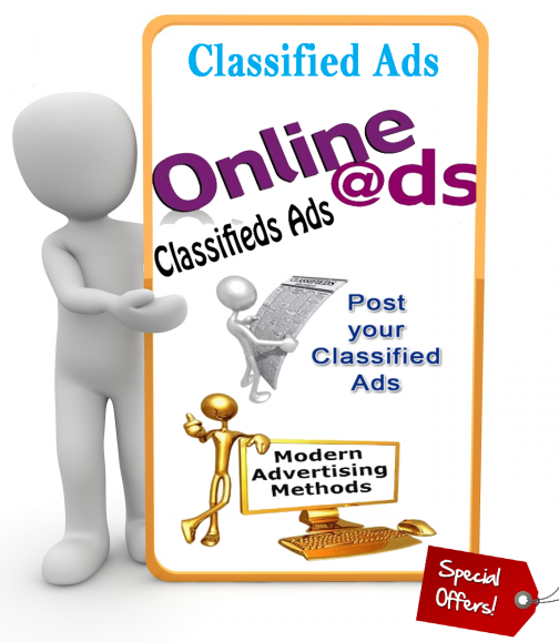 I Manually Post Your Website 20 Classified Ads Sites
