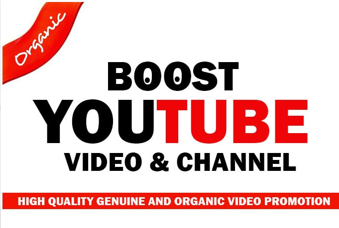 Advertise YouTube video Promotion and Marketing with Organic Raking SEO
