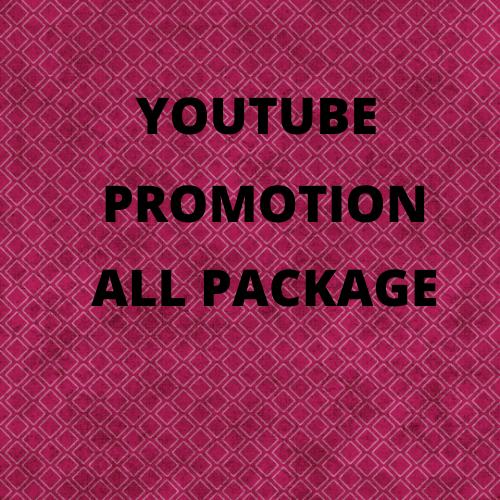 i will do Youtube video Promotion & marketing via social promotion