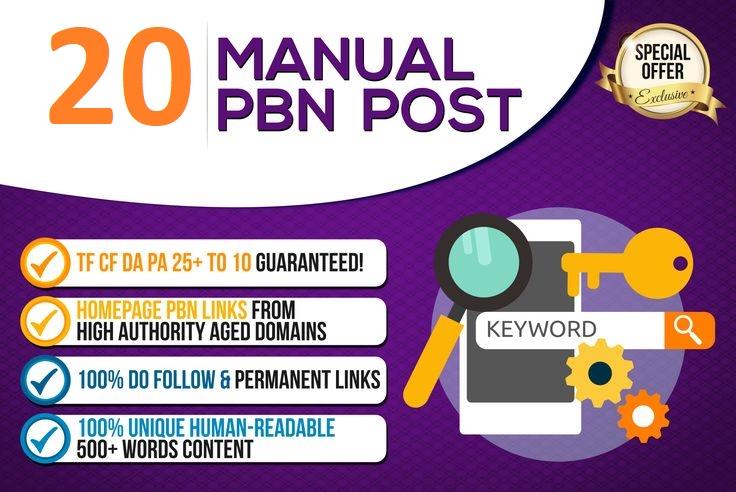 Powerfull 20 PBN Forum Backlinks - DA /PA/TF/CF High quality site