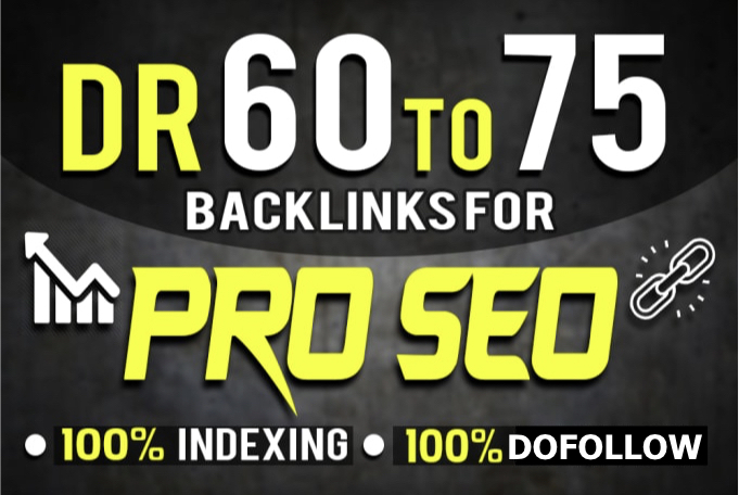 I will create 5 DR 60 to 75 PBN contextual dofollow backlinks for good seo results