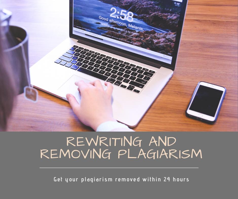 Rewrite and remove plagiarism of 2000 words