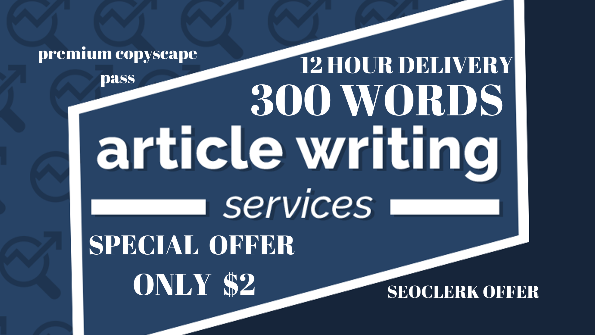 Be your unique article writer and creative content writer