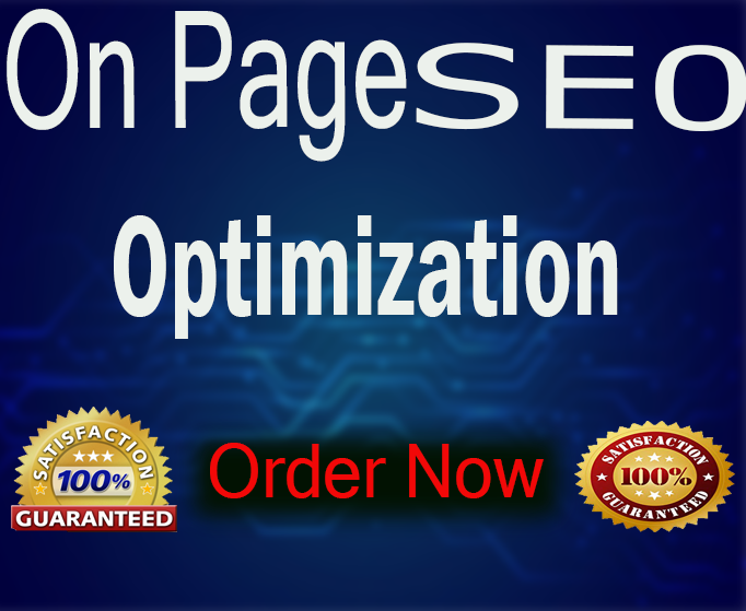 I Will Do SEO Full On Page And Off Page Optimization For Any Site