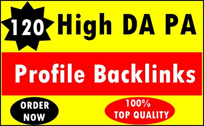 120+ Pr9 To Pr6 Manually Create Authority Profile Backlinks-Top Quality