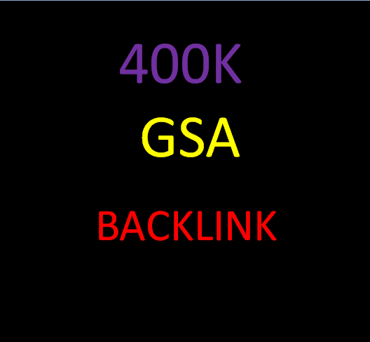I will create GSA ser 400000 SEO backlinks for website ranking on Google pages