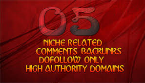 Unique Offer 100 Manually Do Follow Niche Relevant Blog Comments With 50 Off