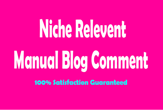 20 Unique Domains Niche Relevant Blog Comment Seo Backlinks