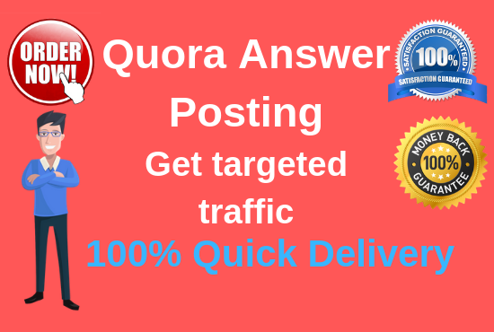 Promote your website 20 High quality Quora Answer