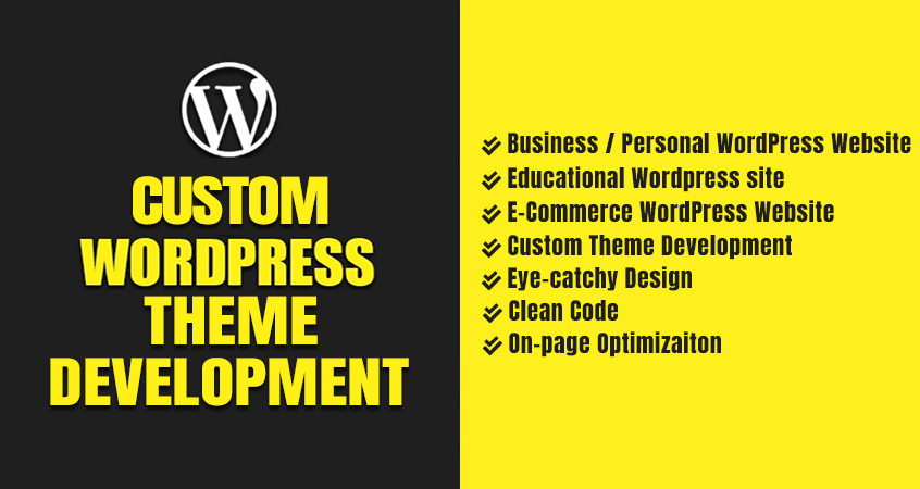 Design & Develop Responsive Custom WordPrss Theme