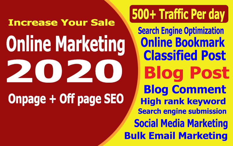 Complete marketing for your website to Increase sales in 7 day