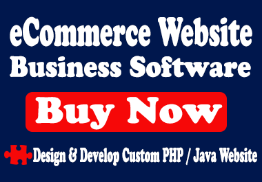 Build eCommerce website and software to manage business