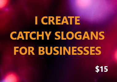 3 Catchy Slogans For Your Business From An E-Commerce University Graduate