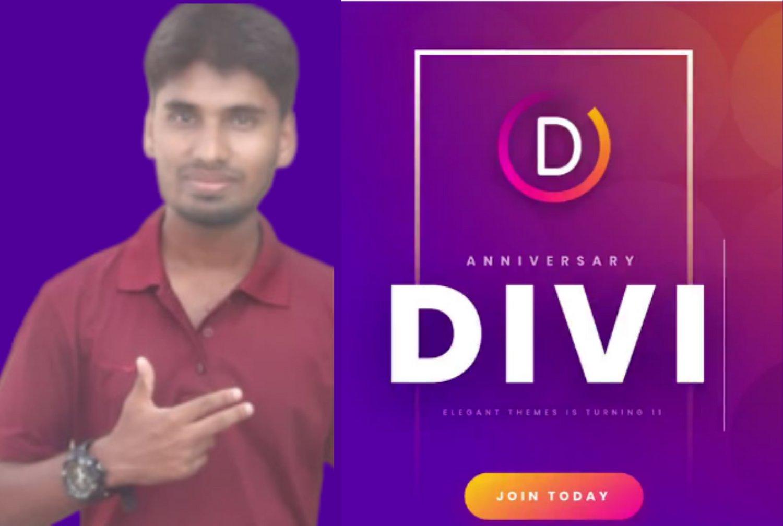 I will create,  clone Professional WordPress website using DIVI theme,  DIVI builder