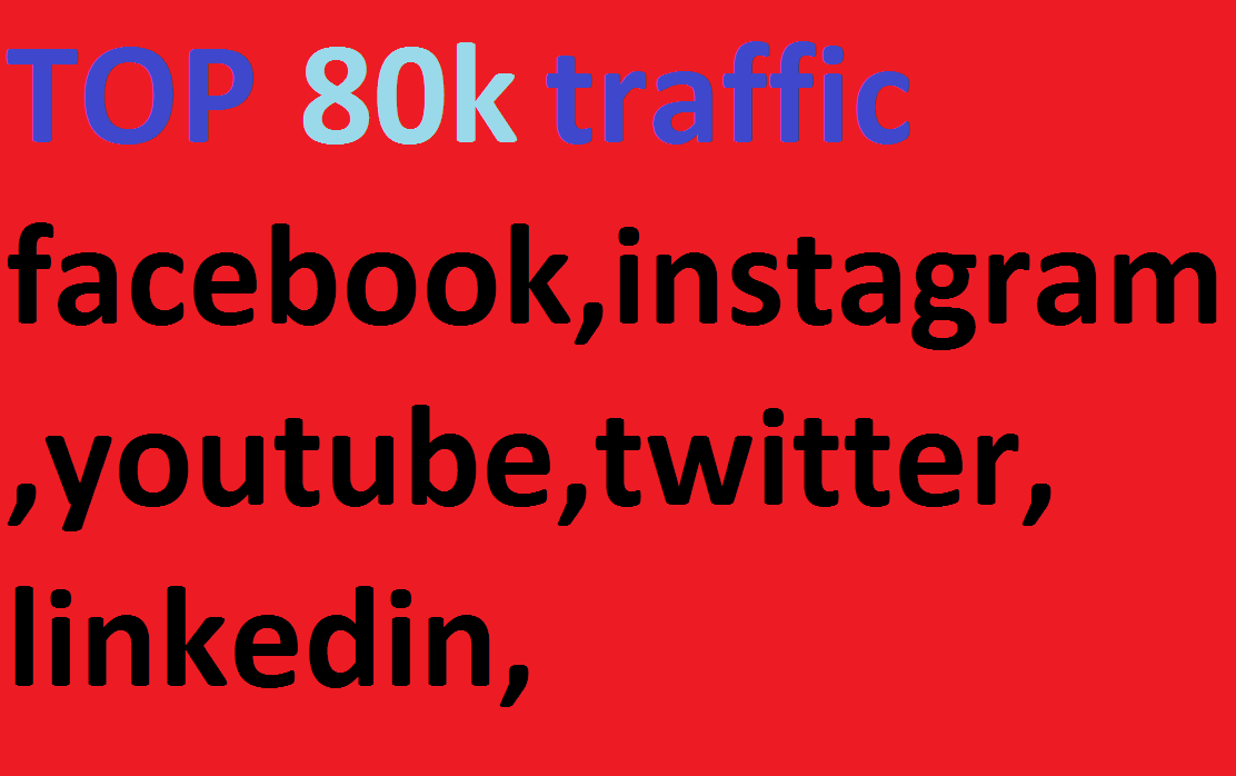 80k, boost website keyword real organic targeted web traffic,  facebook,  instagram,  youtube,  twitter