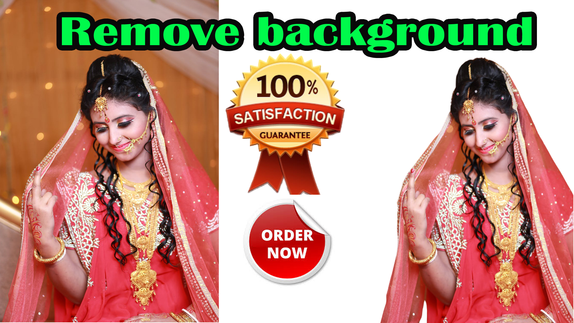 I will do professionally remove 1 to 100 image background