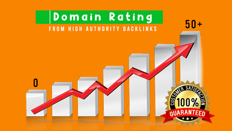Guarantee - I will increase your domain rating ahrefs to 50 plus - Read Before ORDER
