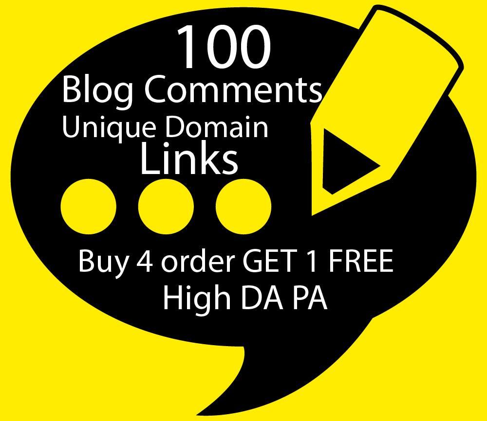 I Will Build 100 Unique Domain SEO Backlinks On High TF DA Sites