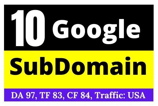 Very High Quality Dofollow Backlinks DA90+ For Rank 1 On Google