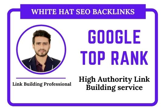 Google Top Ranking by 100 High Quality SEO Backlinks