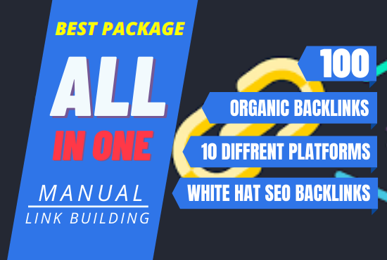 All In One Manual SEO White Hat Link Building Package