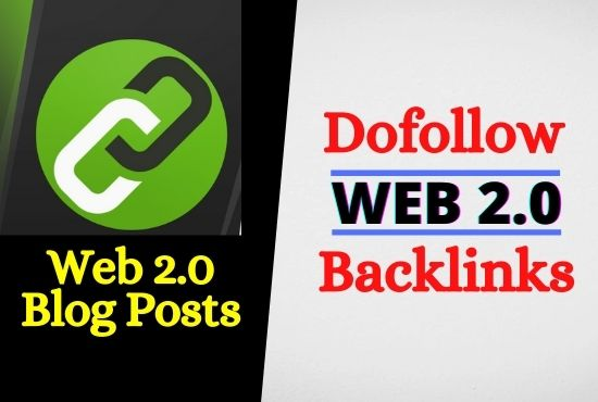 White Hat Do Follow Web 2.0 Contextual SEO Backlinks for Google Top Ranking