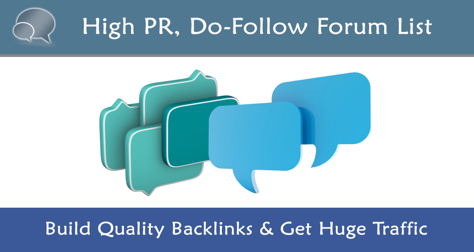 Grow Your SERP Ranking With 100+ High-Quality Dofollow Forum Backlinks