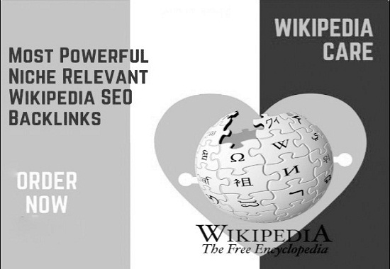 I Will Create High DA PA Niche Relevant Permanent Wikipedia Backlink