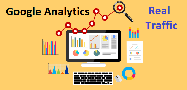 Add 100,000 Worldwide Website Google Analytics Traffic And Real Visitors For Online Marketing