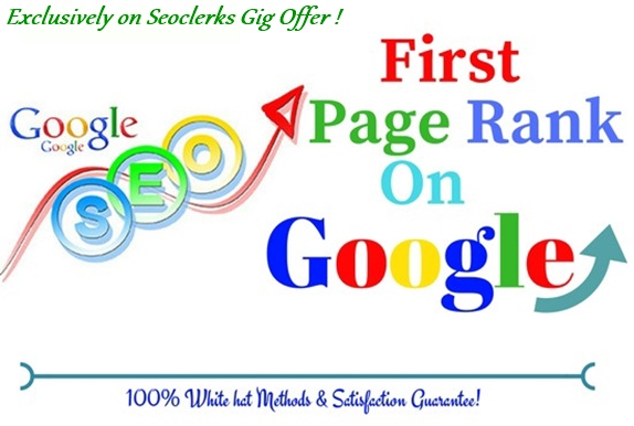 I will do complete seo of your site for 1st page ranking on google. July Update 2020