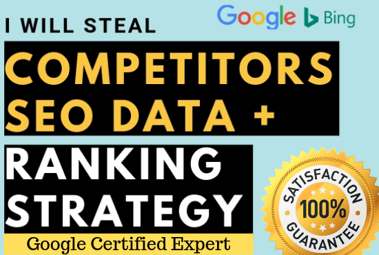Analysis competitor,  backlinks,  seo audit report