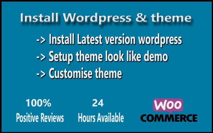 I will install wordpress theme & make same as demo in just 3 hours.
