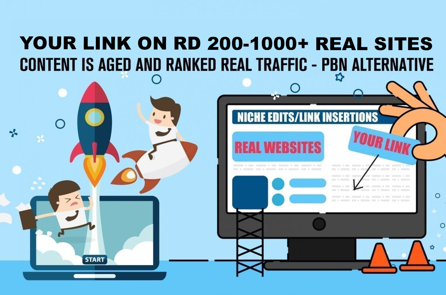 curated link building inserts niche edit 1 Link insertion on RD upto 200 with dofollow link