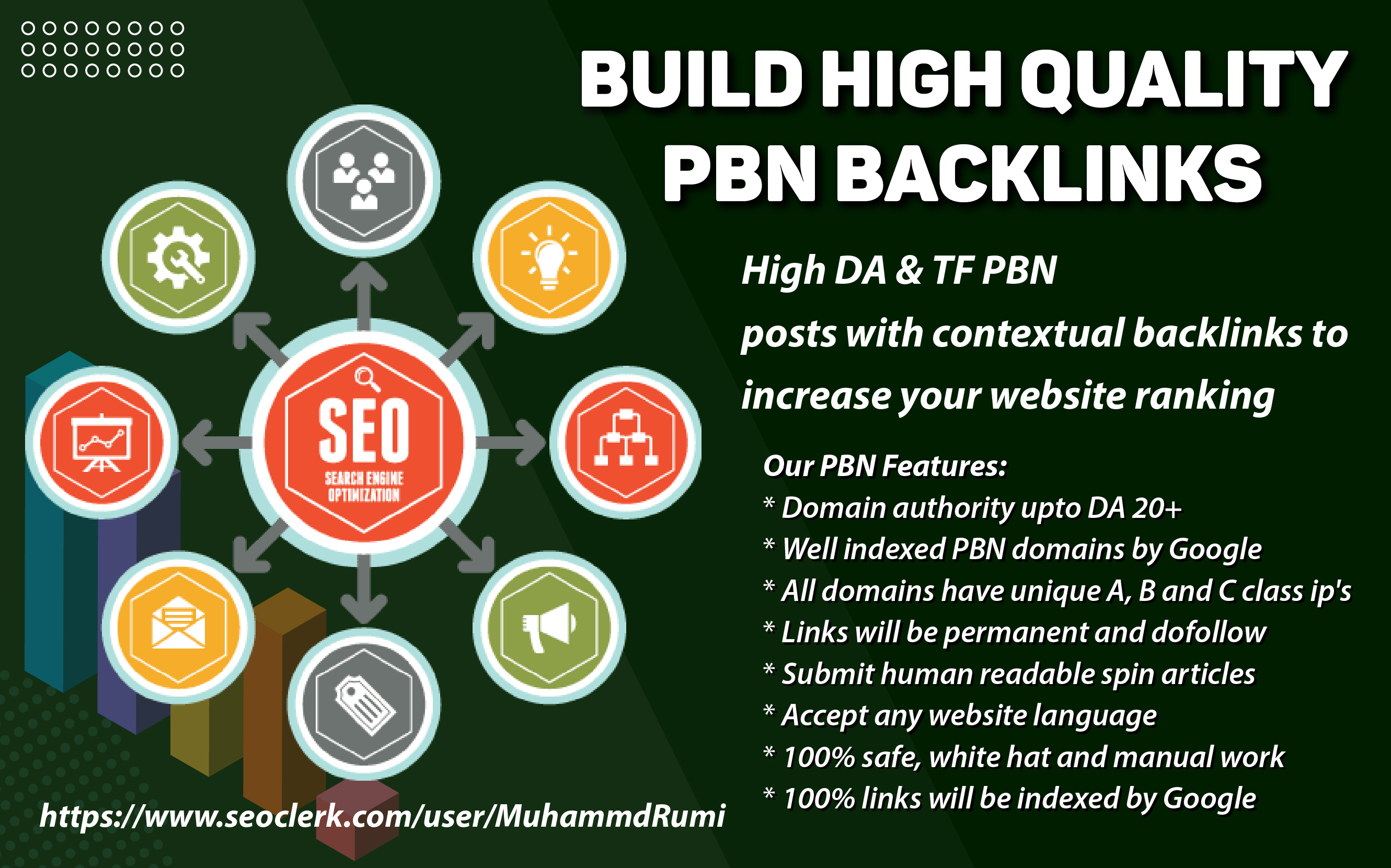 I will Build High Quality 20 PBN Backlinks