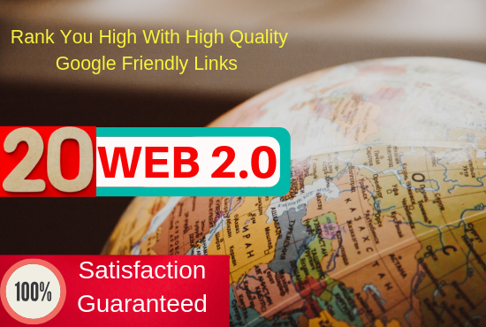 Rank your site with web2.0 dofollow backlinks