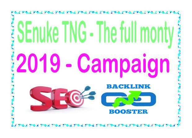 Do SEnuke TNG- The full monty High-Quality PREMIUM Backlinks To Improvement Your Rank