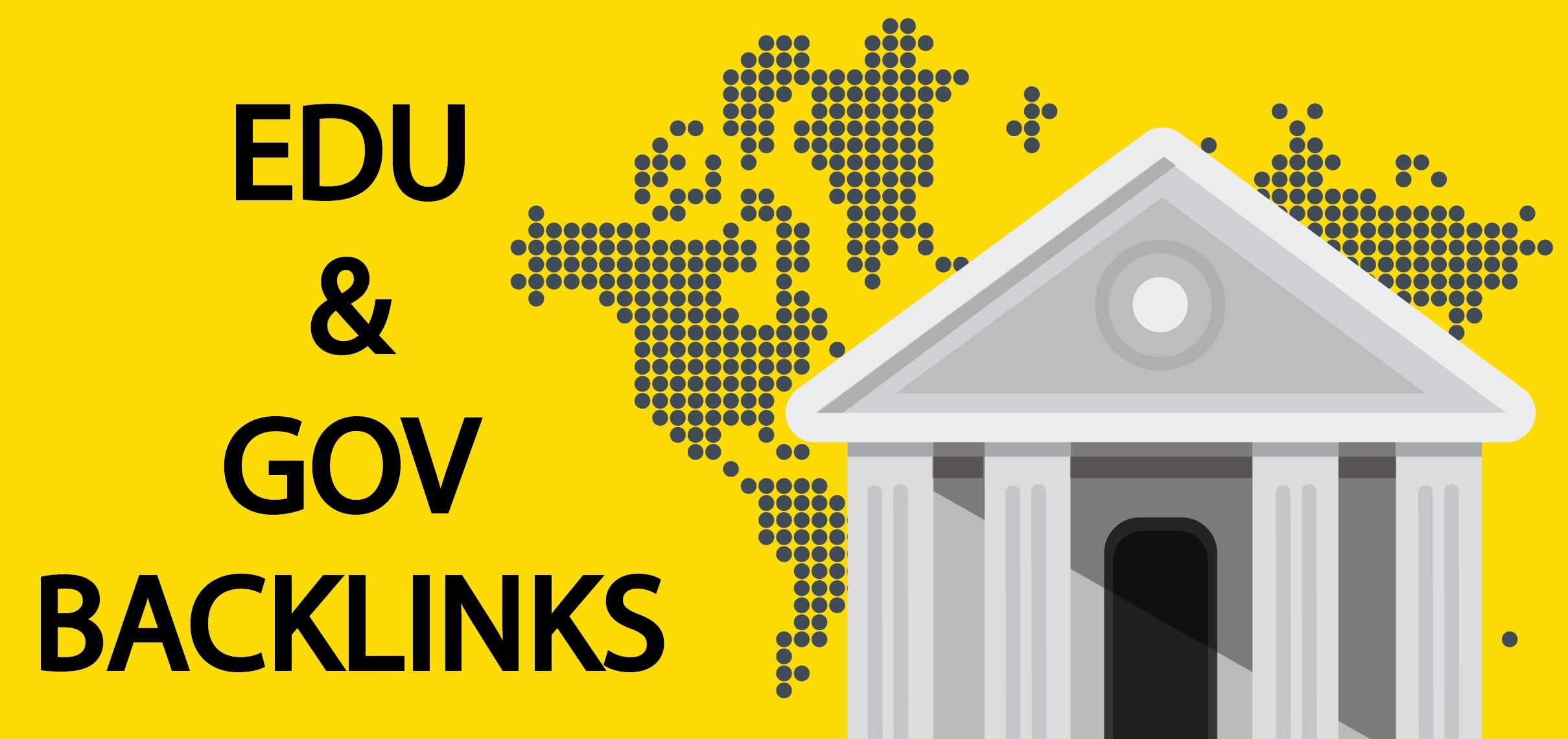 GOV EDU 20 HIGH PR BACKLINKS FOR TOP RANK YOUR WEBSITE / BLOG
