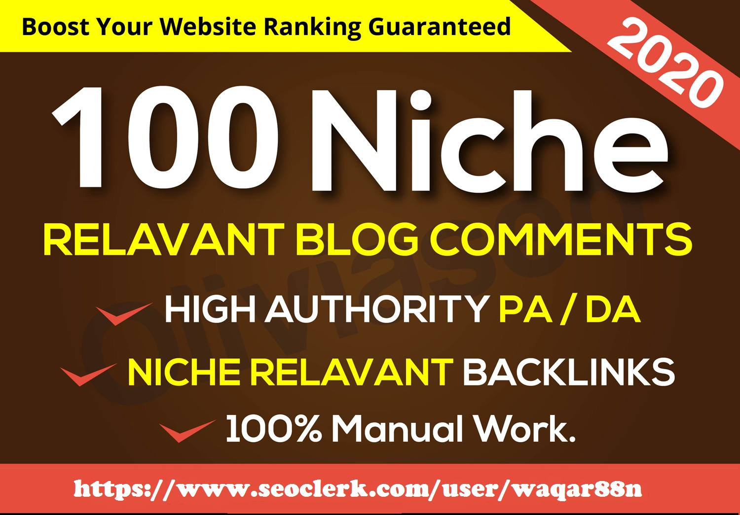 I will provide 100 Niche Relevant Blog Comments and based high quality backlinks