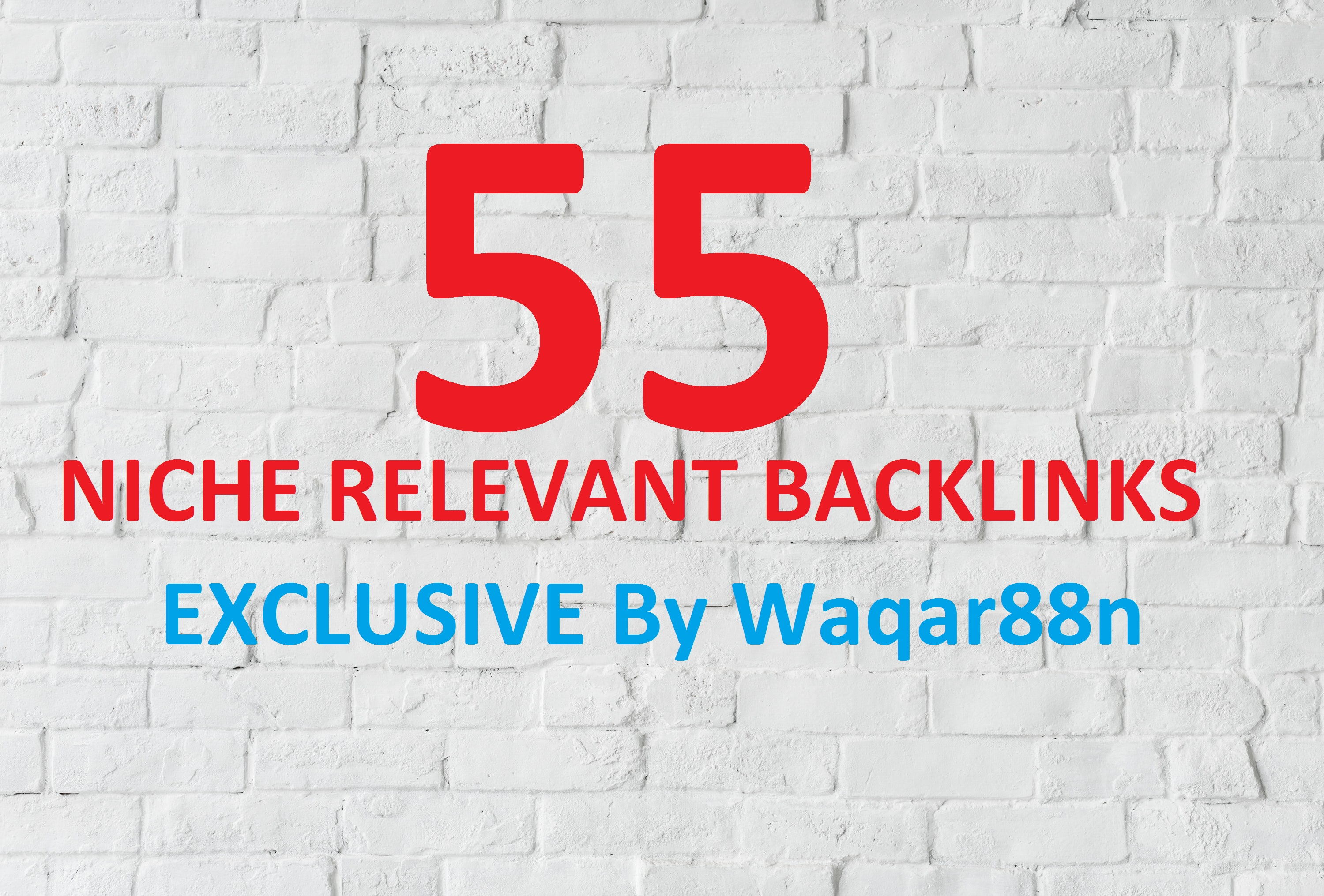 I will do 55 niche relevant backlinks low obl manual blog comments