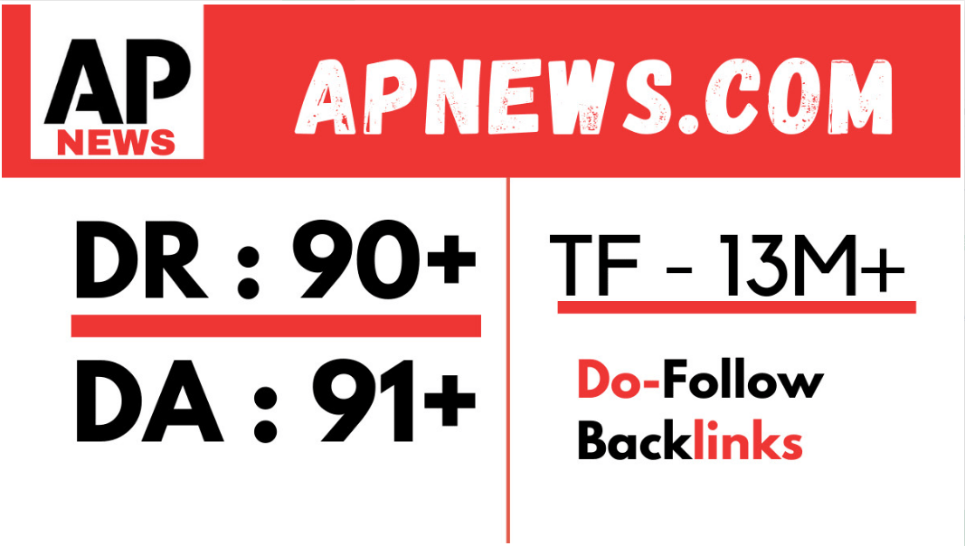 I will do guestpost on apnews press release with backlink
